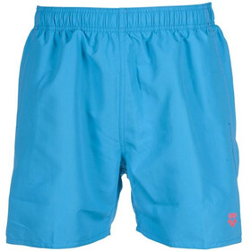 arena Fundamentals Short de bain Homme, turquoise/fluo red